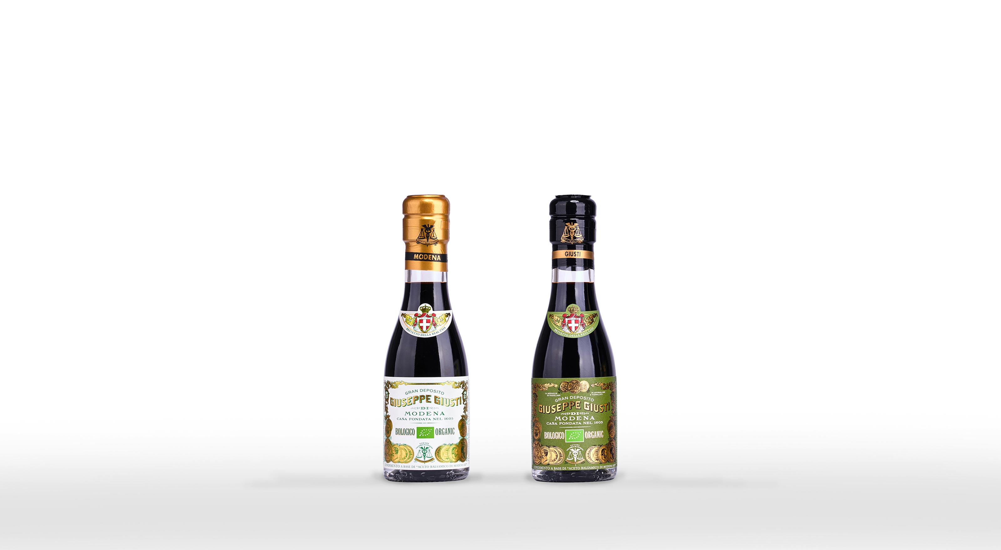 ORGANIC CONDIMENTS WITH BALSAMIC VINEGAR OF MODENA IGP