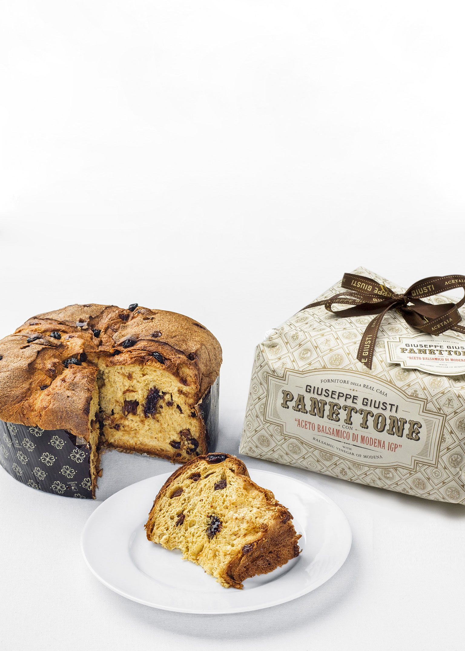 Panettone with Balsamic Vinegar of Modena 1kg - Acetaia Giusti