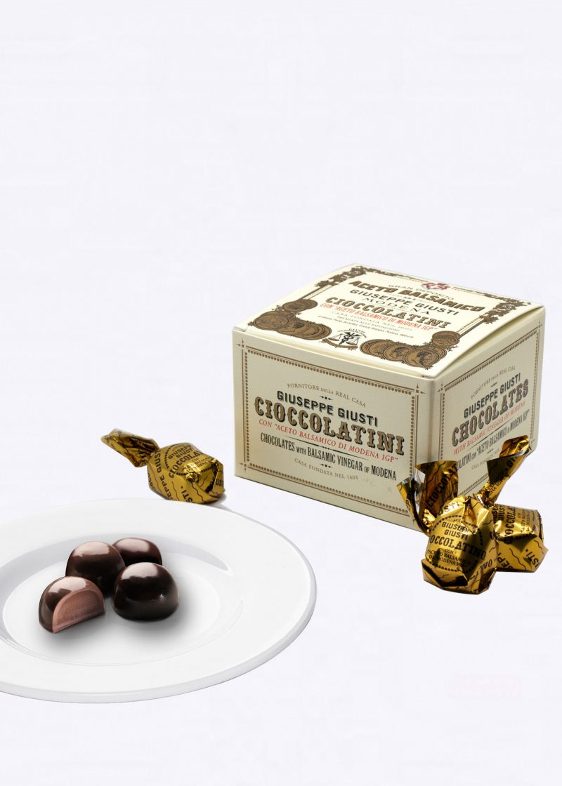 Chocolates with Balsamic Vinegar of Modena 250gr - Acetaia Giusti
