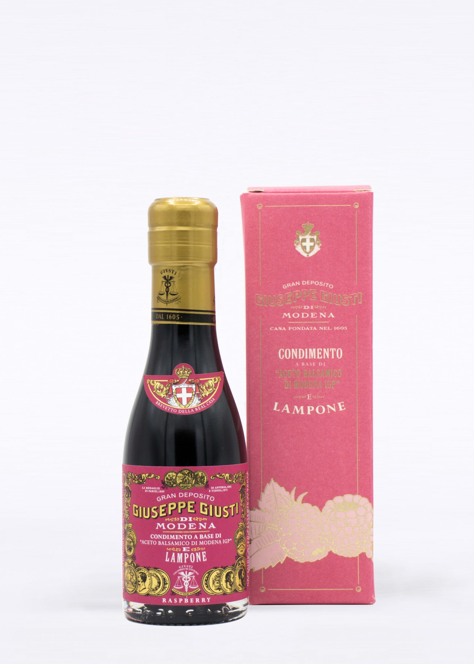 Balsamic Vinegar with Raspberry + Astuccio 100ml - Acetaia Giusti