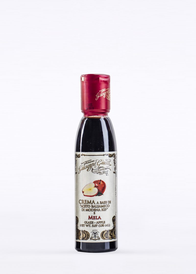 Glaze with Balsamic Vinegar of Modena and Apple 150ml - Acetaia Giusti