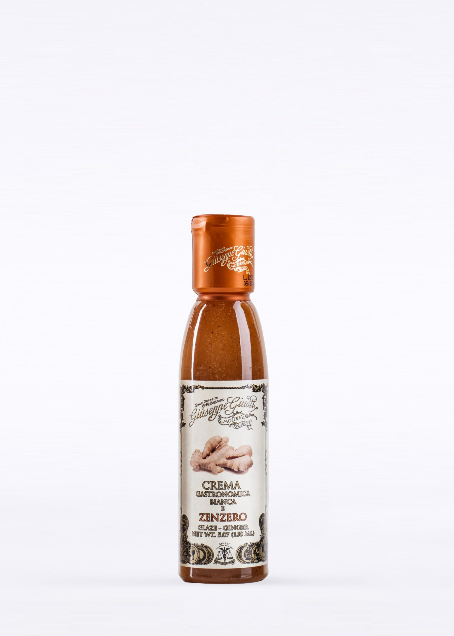 White Gourmet Glaze with Ginger 150ml