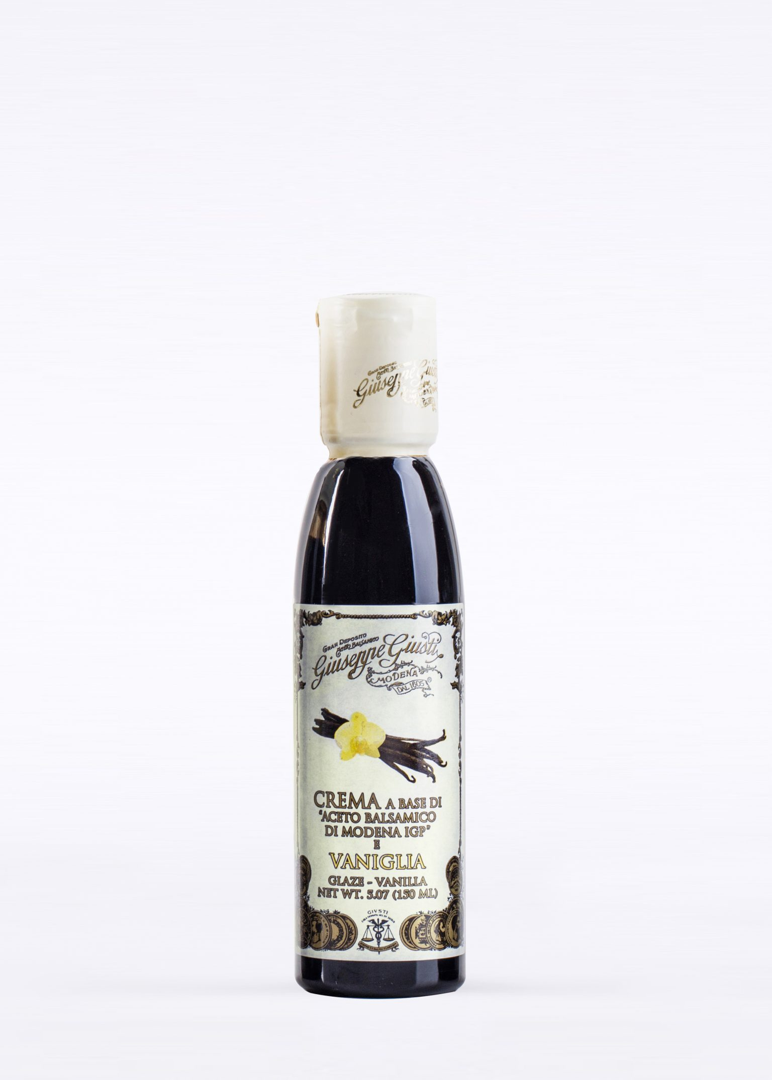 Glaze with Balsamic Vinegar of Modena and Vanilla 150ml