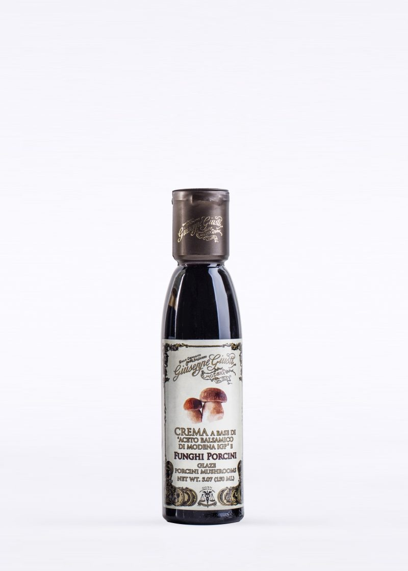 Glaze with Balsamic Vinegar of Modena and Porcini Mushroom 150ml