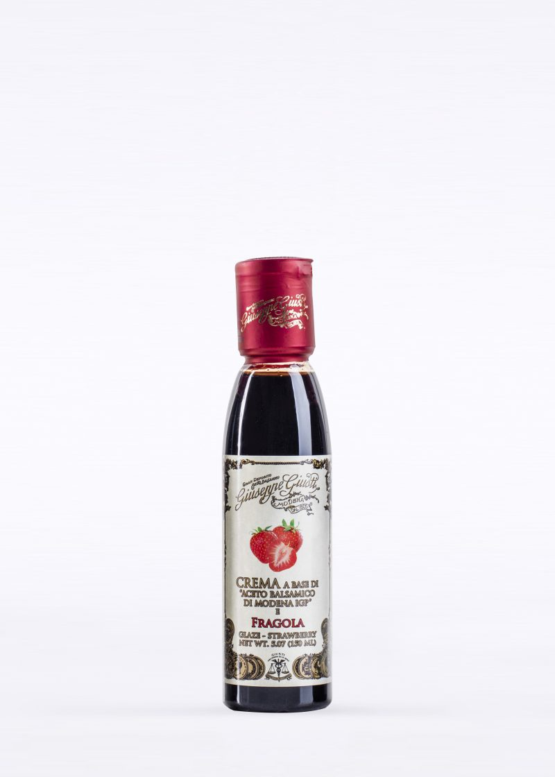 Glaze with Balsamic Vinegar of Modena and Strawberry 150ml