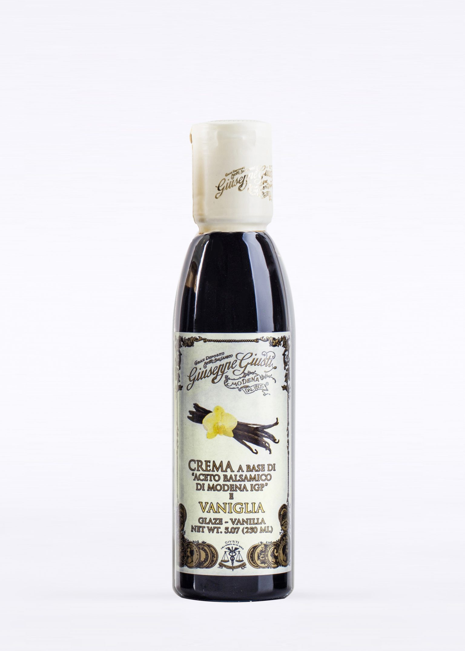 Glaze with Balsamic Vinegar of Modena and Vanilla 250ml