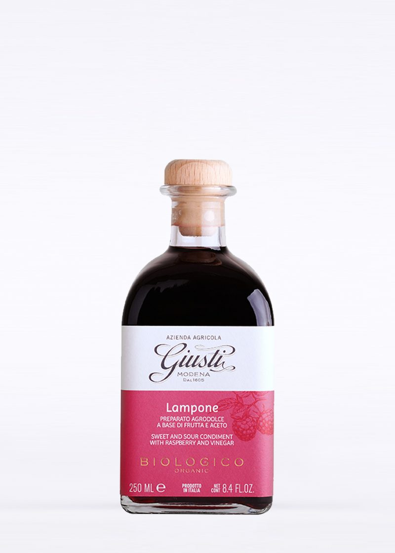 Organic Sweet & Sour Condiment with Raspberry 250ml