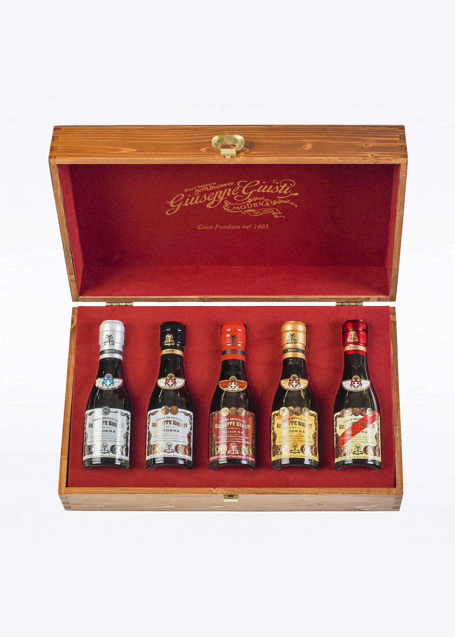 """Complete Collection"" Case  – 5 Champagnottine 100ml"