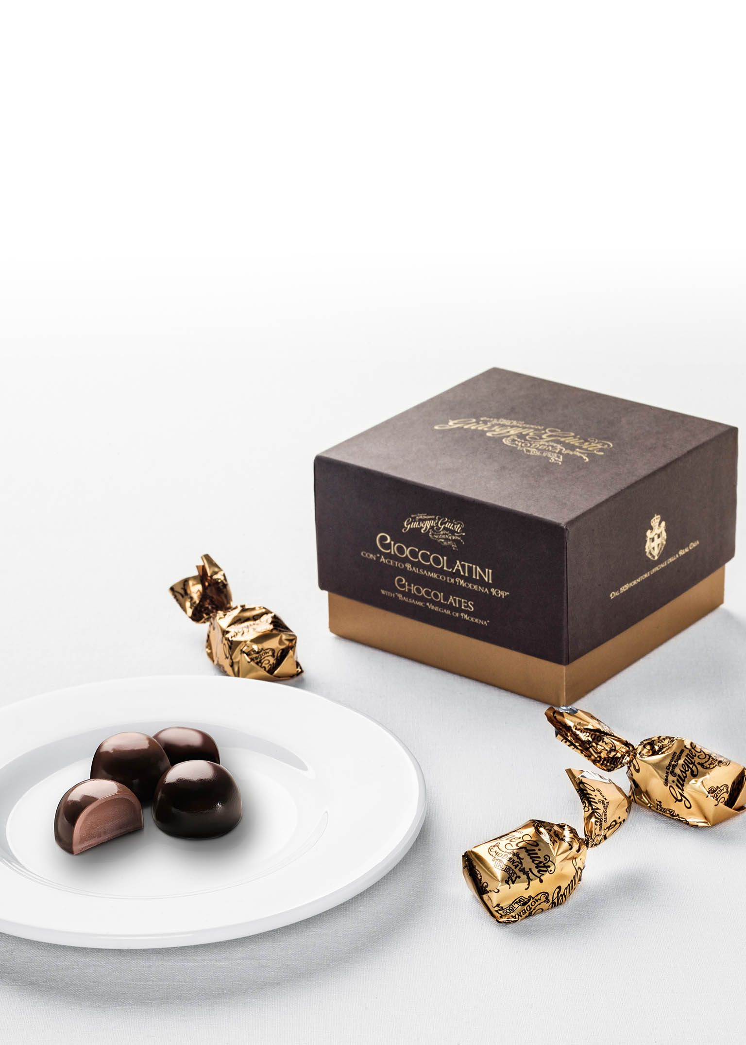 Chocolates with Balsamic Vinegar of Modena 250gr